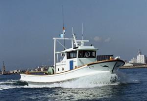 漁業調査船「ちどり」